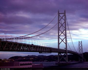 明石海峽大橋 2002.08
