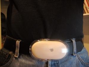 Apple 滑鼠腰帶
