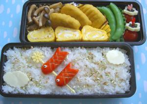 鯉のぼり 弁当